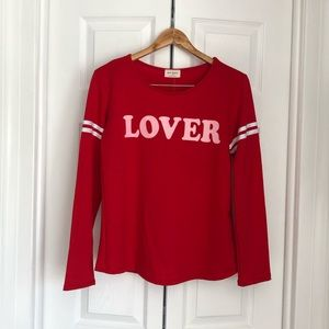 Tops - Lover raglan sleeve top